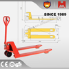 HM6 Standard Hydraulic 2500kg Pump Hand Pallet Truck with nylon/pu wheels since 1989