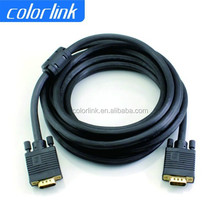 High Quality 15 Pin VGA To VGA Cable