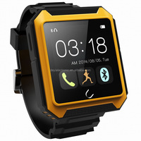 Most popular best sell ip54 android wifi smart watch U-Terra with free cellphone holder