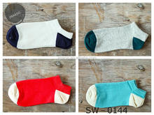 Hot item custom made invisible socks with blocking colorful