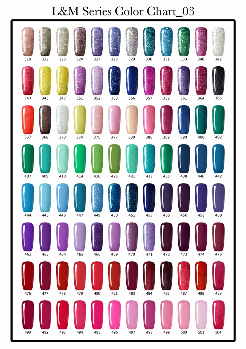 2016 Gel Nail Lvmay High Quality Nail UV polish