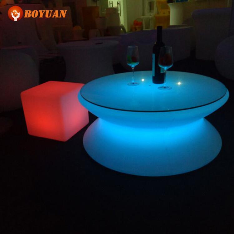 Outdoor 16 kleuren veranderende bar tafel, led verlichting ktv tafel ...