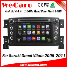"Wecaro WC-SV7056 7"" Android 4.4.4 WIFI 3G touch screen car navigation system radio gps dvd for suzuki grand vitara 2005 - 2011"
