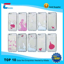 Factory Mobile Phone Accessories,Cheap Silicon Case for iPhone 6,pattern phone case for iphone 6 plus case