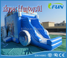 inflatable bounce carriage frozen theme