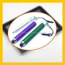 2 in 1 Plastic Capacitive Stylus Touch Pen For Galaxy S4