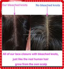 High Quality Mongolian Kinky Straight Lace Closure Free Part Yaki Lace Closure
