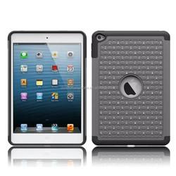 triple defender bling rhinestone protective case cover for ipad mini 4