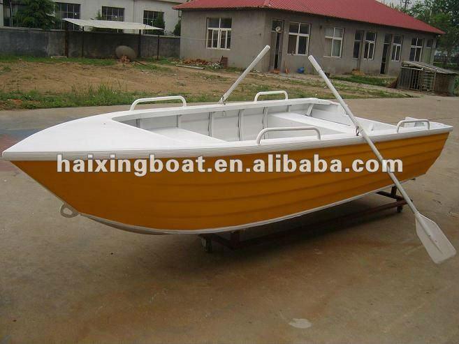 Deep v 14ft aluminum fishing boat cabin fishing boats for Portable fishing boat