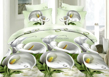 Microfiber Brushed 3D Comforter Set or Duvet Cover Set Bedding China Factory