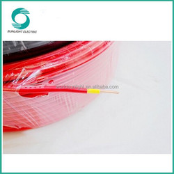 Excellent resistance to abrasion solar panel cable, High current carrying capacity solar pv cable 4mm2