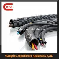 Flexible corrugated nylon hose with UL