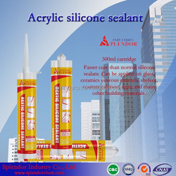 One component silicone sealant/acetic general purpose silicone sealant/silicone sealant for application glass & aluminum
