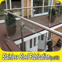 2015 New Design 304 316 Stainless Steel Glass Balcony Railing