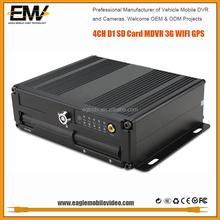 3g Full D1 H.264 Sd Card Wifi Gps G-Sensor 128GB Storage Mobile Car Dvr