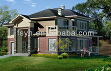 luxury villa design prefabricated villa steel structure villa