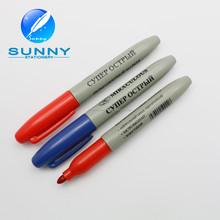 Wholesale cheap plastic permanent marker pen,multi-color permanent marker pen