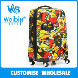 ABS PC kids luggage animal kids luggage cheap cute luggage