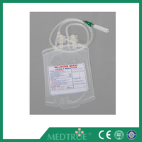 High Quality 250ml Single CPDA-1 Blow-extruded Blood Bag With CE&ISO Certification (MT58071002)
