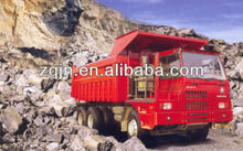 Mine king dump truck special vehicle
