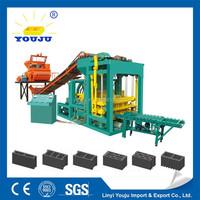 used brick making machine for sale in angola QTJ4-25 Youju machinery group