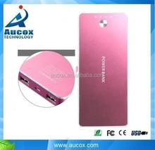 High real capacity Tablets 10000mah mobile rohs power bank