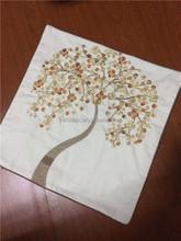 2015 embroidery large sofa pillows/ 50*50cm sofa set cushion