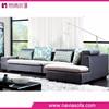 Home furniture small L shape corner Cloth china reclining sofa