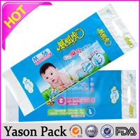 Yason grape bag with vent hole roll garment cover small bottom gusset laminated aluminum foil mylar empty sugar sachet/bags