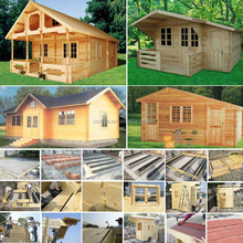 2015 new design wooden dream log house