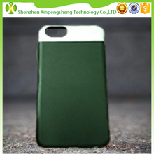 Quality leather + PC IML IMD phone case cover for Apple iPhone 6