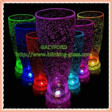 2015 hot sale colorful custom led flashing cup