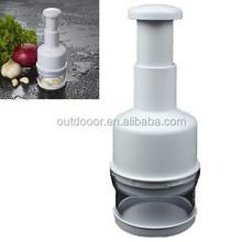 Stainless Steel Onion Cutting Instrument/Ginger Garlic Cutting Machine,Size:22x8x8cm