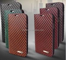 for Samsung Galaxy S 4 IV mini Ezreal Genuine Real Leather Case Flip Cover Brown