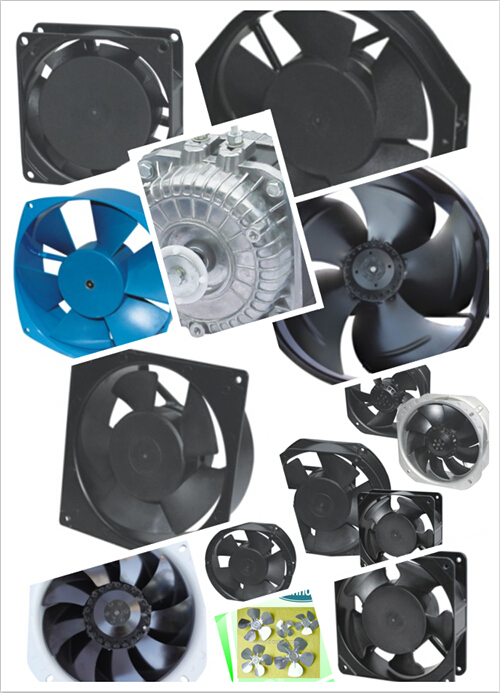 YWF Series Axial Fan Motors (CE CCC RoHS Approved)