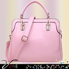 New Women Handbag Shoulder Bags Purse PU Leather Ladies Candy Color Totes