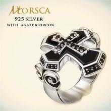 Verdadero artistry Morsca plata hecho a medida venta al por mayor del anillo