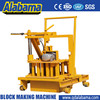most popular semi automatic block making machine made in China