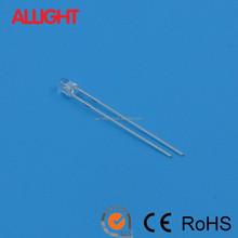used led diode/round led/flat top led