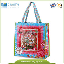 2015 hot sale PP woven bag,color printed shopping bag