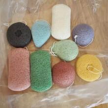 new skincare puff sponge, oem lady woman girl face cotton makeup puff, organic konjac sponge
