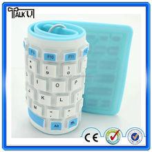 Wholesale foadable waterproof bluetooth soft keyboard for Macbook/computer keyboard