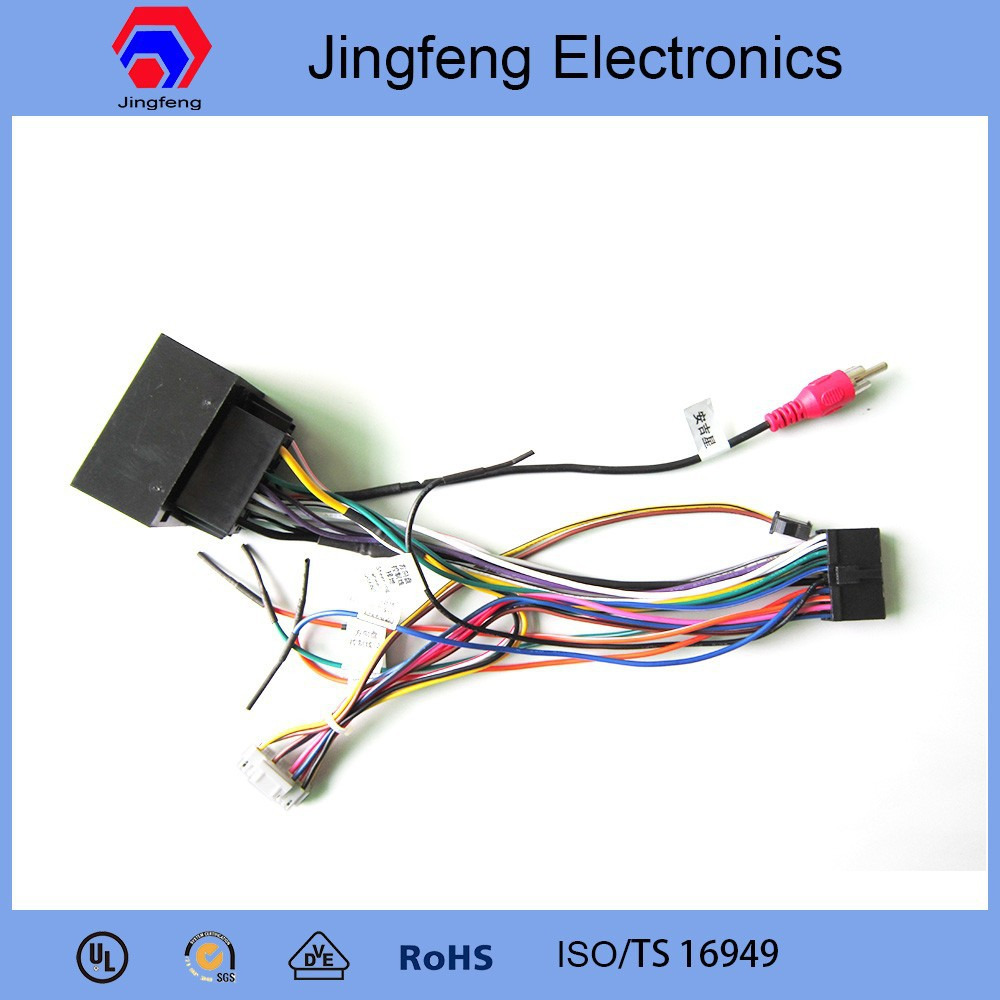 Standard Electrical Cable Harness : Automotive electrical wire oem harness for car navigation