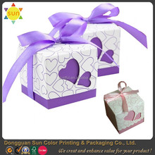 13 years experiences to produce high quality candy box for wedding