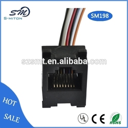 647 rj45 8p8c jack connector network adapter