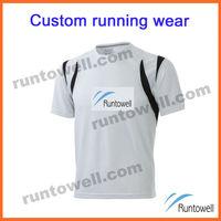 Runtowell 2013 Custom design gear running / wholesale running shirts / custom running shirt