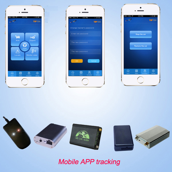Mini Gps Tracker TK108 for car, truck and fleet management,APP tracking,CE pass.