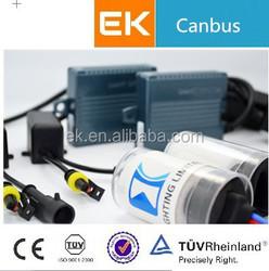 EK Newest Canbus Shockproof Waterproof Xenon H8 H9 H10 H11 3000k 4300k 5000k 6000k Whosale HID Xenon H8