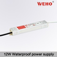 insulate well led driver 12w 12v AC to DC Waterproof power supply