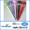 new produce traffic signal pole decorate garden and yard value coloured portable solar lamps for graves XLTD-939
